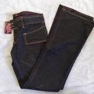 7404464c62e9 Von dutch woman s bootleg jeans 27